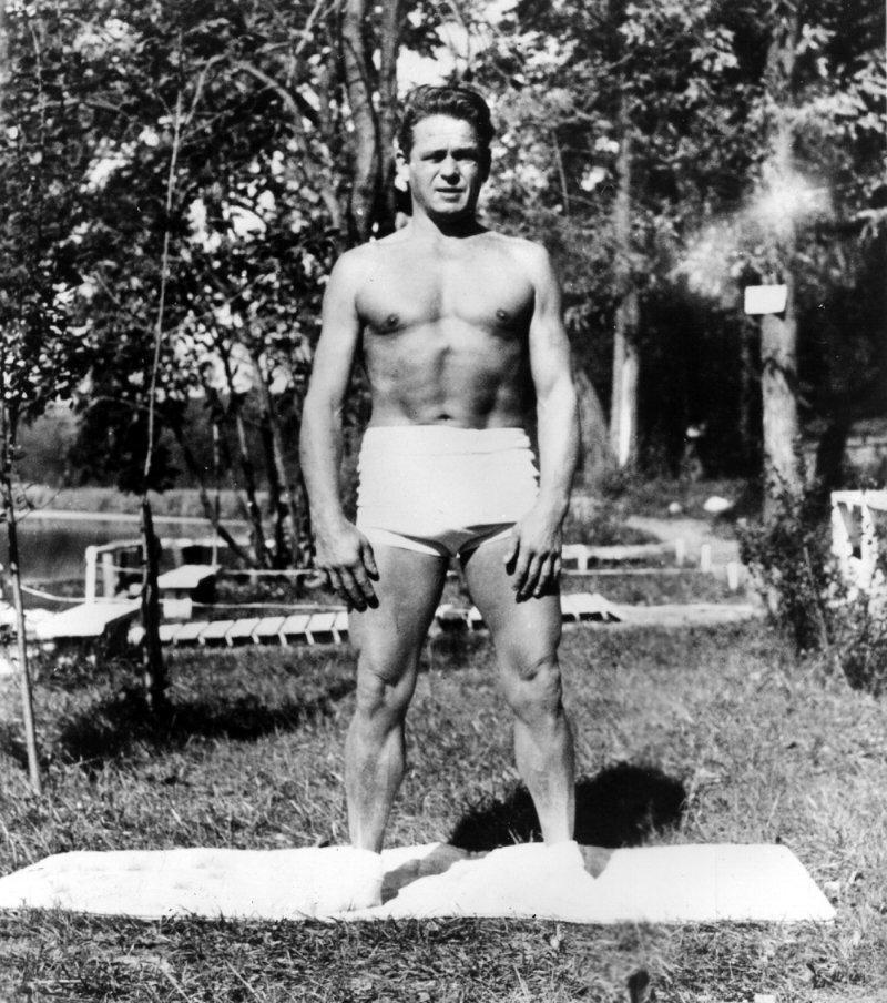 Joseph Pilates, the creator of pilates